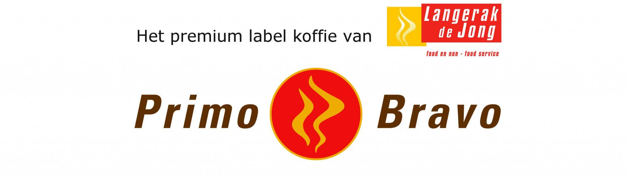 Primo Bravo, het premium label koffie van Langerak de Jong