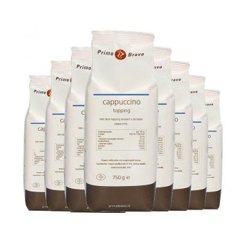 Cappuccino topping 10x750gr 350x350 - Primo Bravo cappuccino topping 10x750gr
